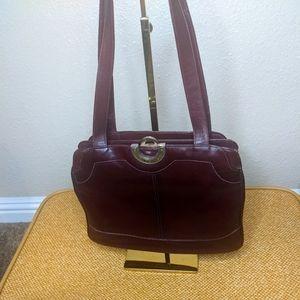 Lou Taylor Vintage 1950's bag wine color